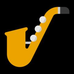 Saxophone microsoft emoji