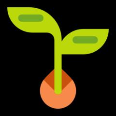 Seedling microsoft emoji