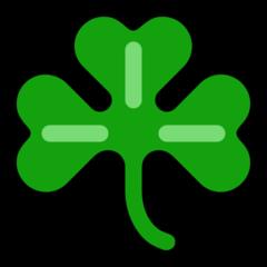 Shamrock microsoft emoji