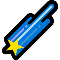 Shooting Star microsoft emoji