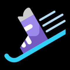 Ski And Ski Boot microsoft emoji