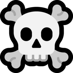 Skull And Crossbones microsoft emoji
