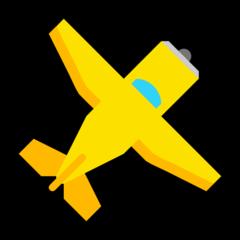 Small Airplane microsoft emoji