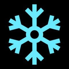 Snowflake microsoft emoji