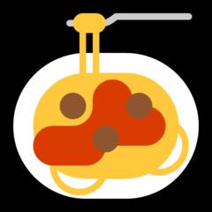 Spaghetti microsoft emoji