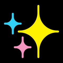 Sparkles microsoft emoji