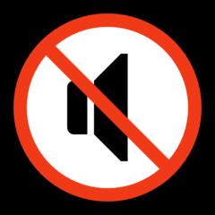 Speaker With Cancellation Stroke microsoft emoji