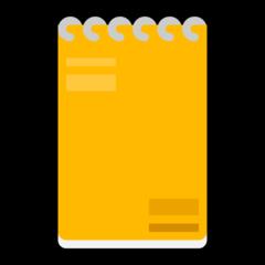 Spiral Note Pad microsoft emoji