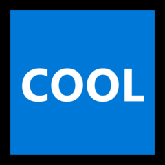 Squared Cool microsoft emoji