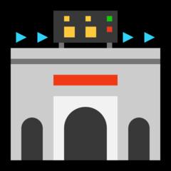 Stadium microsoft emoji
