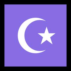 Star And Crescent microsoft emoji