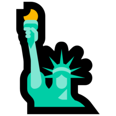 Statue Of Liberty microsoft emoji