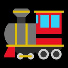 Steam Locomotive microsoft emoji