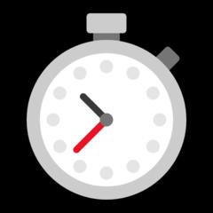 Stopwatch microsoft emoji