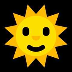 Sun With Face microsoft emoji