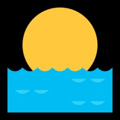 Sunrise microsoft emoji
