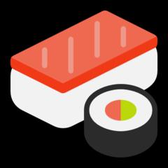 Sushi microsoft emoji