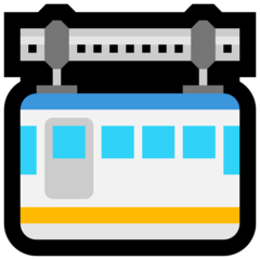 Suspension Railway microsoft emoji