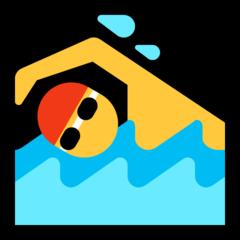 Swimmer microsoft emoji