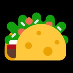 Taco microsoft emoji