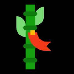 Tanabata Tree microsoft emoji
