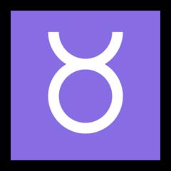 Taurus microsoft emoji