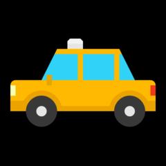 Taxi microsoft emoji