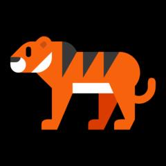 Tiger microsoft emoji