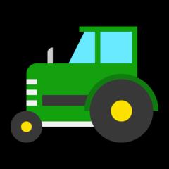 Tractor microsoft emoji