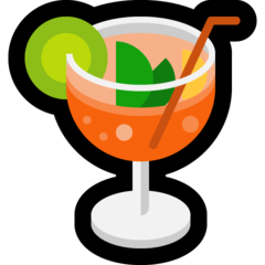 Tropical Drink microsoft emoji