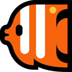 Tropical Fish microsoft emoji