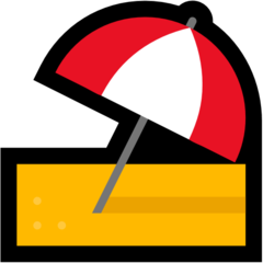 Umbrella On Ground microsoft emoji