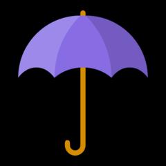 Umbrella microsoft emoji