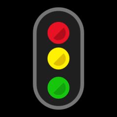 Vertical Traffic Light microsoft emoji