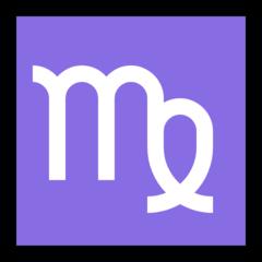 Virgo microsoft emoji