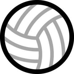 Volleyball microsoft emoji