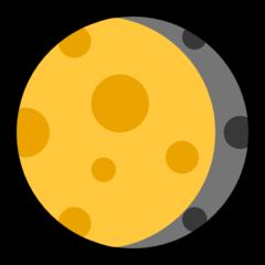 Waning Gibbous Moon Symbol microsoft emoji