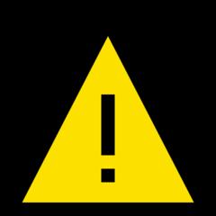 Warning Sign microsoft emoji