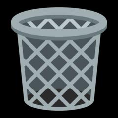 Wastebasket microsoft emoji