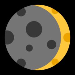 Waxing Crescent Moon Symbol microsoft emoji