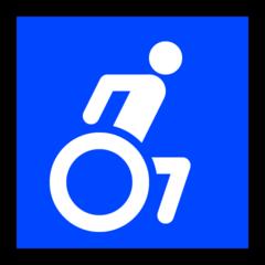 Wheelchair Symbol microsoft emoji
