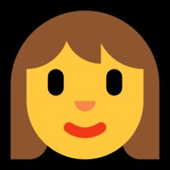 Woman microsoft emoji