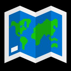 World Map microsoft emoji