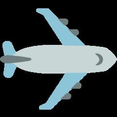 Airplane mozilla emoji