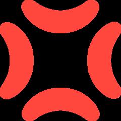 Anger Symbol mozilla emoji