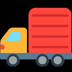 Articulated Lorry mozilla emoji