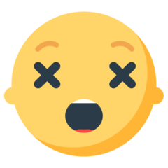 Astonished Face mozilla emoji