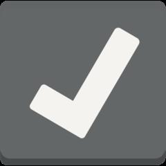 Ballot Box With Check mozilla emoji