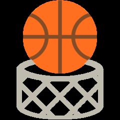Basketball And Hoop mozilla emoji
