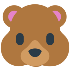 Bear Face mozilla emoji